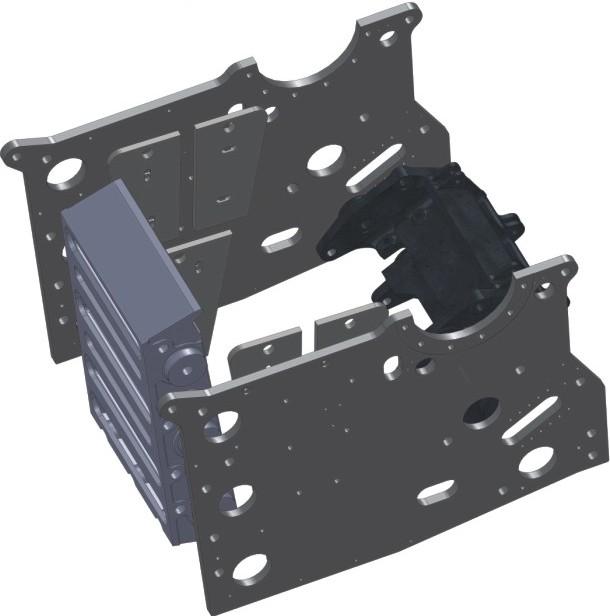 Modular, non-welded construction